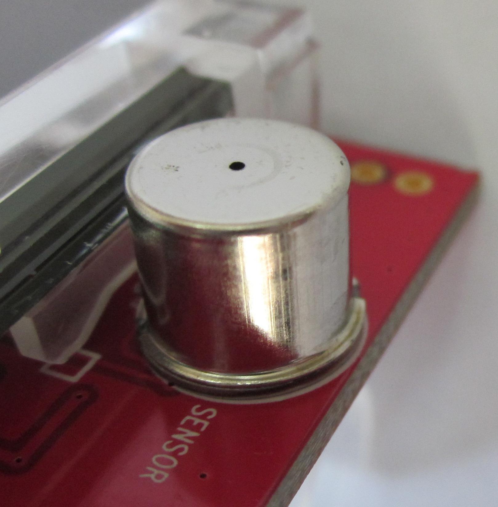 Полупроводниковый сенсор алкотестера